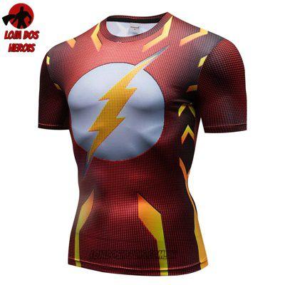 Camiseta Flash Compressão