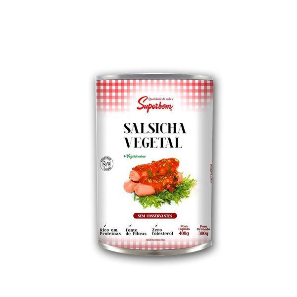 Salsicha Vegetal Superbom 300g