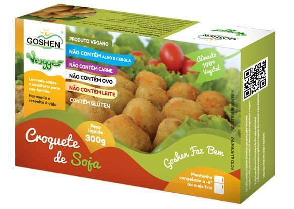 Vegges Croquete de Soja Vegano Goshen 300g❄