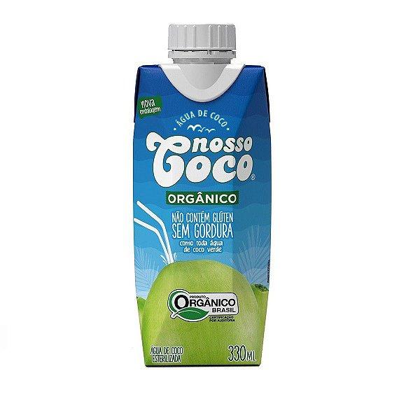Água de Coco Orgânica Nosso Coco Caixinha 330ml