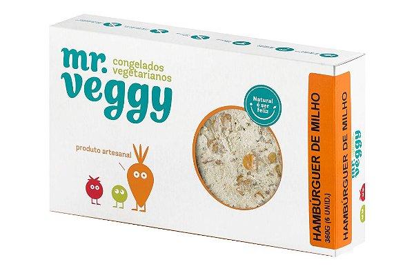Hambúrguer de Milho Mr. Veggy 360g (6 unidades) ❄