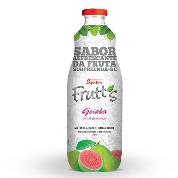 Suco Frutt's Goiaba Light Superbom Garrafa 1L