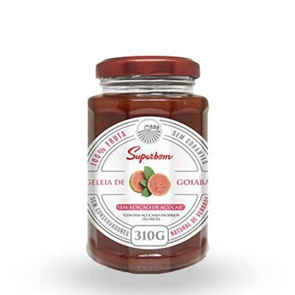Geleia de Goiaba 100% Fruta Superbom 310g