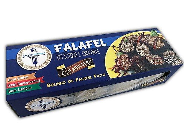 Bolinho de Falafel Frito Gregourmet 500g ❄