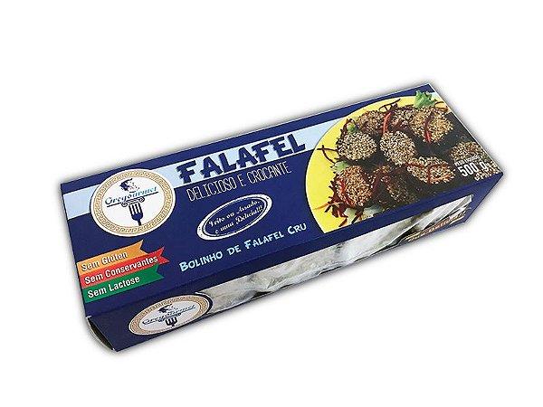 Bolinho de Falafel Cru Gregourmet 500g ❄