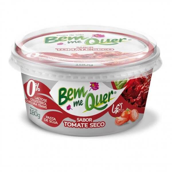 Pasta de Soja Bem Me Quer Tomate Seco Life Co. 180g ❄