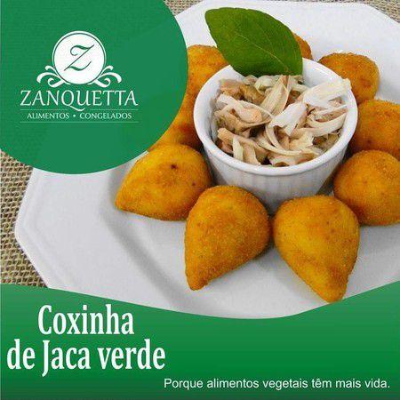 Coxinha de Jaca Verde Zanquetta (4 unidades) 480g ❄