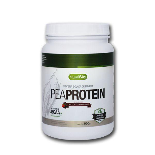 Pea Protein Sabor Cacau com Morango VeganWay 900g