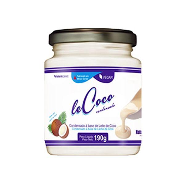 leCoco Leite Condensado de Coco Natural Science 190g
