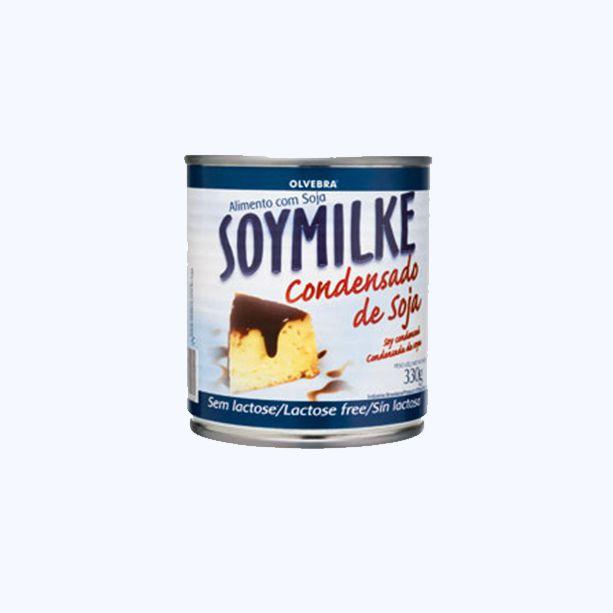Leite de Soja Soymilke Condensado Olvebra 330g