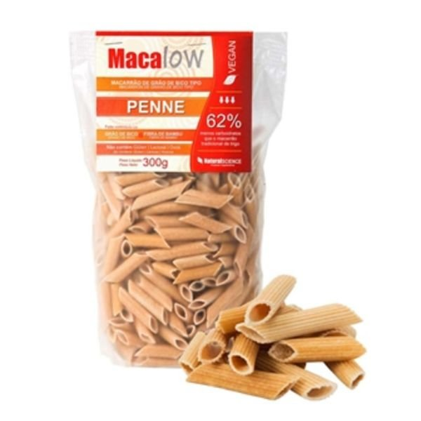 Macarrão Penne de Grão de Bico MacaLOW Natural Science 300g