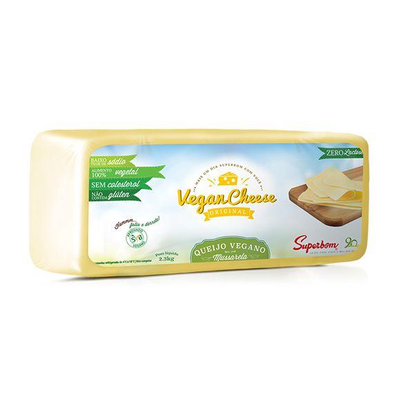 Queijo Vegano VeganCheese Mussarela Superbom 2,3kg ❄