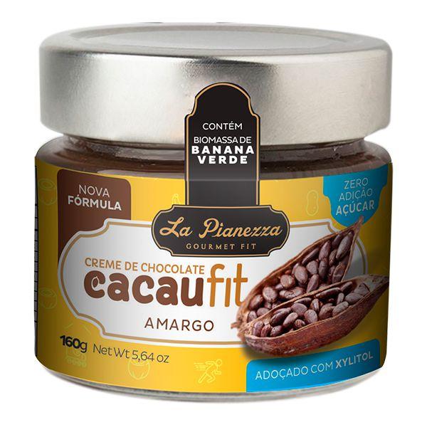 Creme de Chocolate com Cacaufit Amargo La Pianezza 160g