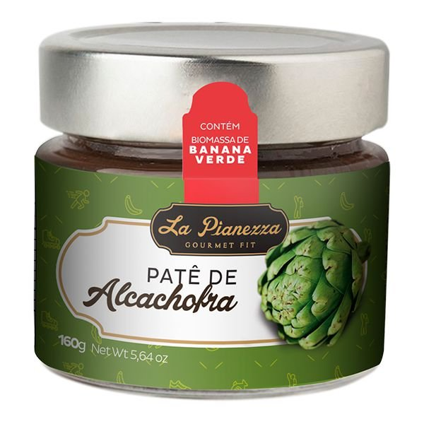 Patê de Alcachofra Gourmet La Pianezza 160g
