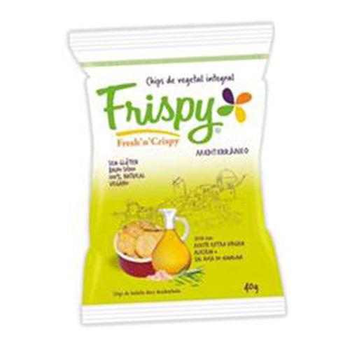 Salgadinho Chips Mediterrâneo Desidratado Frispy 40g