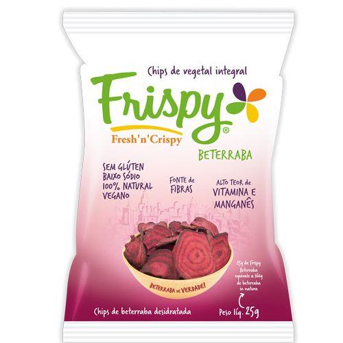 Salgadinho Chips de Beterraba Desidratado Frispy 25g