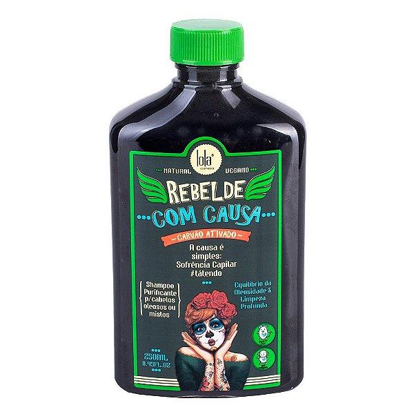 Shampoo Rebelde com Causa Lola Cosmetics 250ml