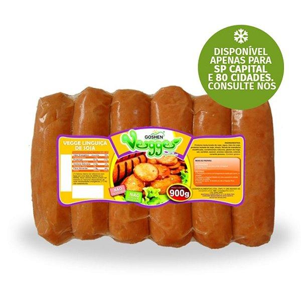 Vegge Linguiça de Soja Food Service Goshen 900g ❄