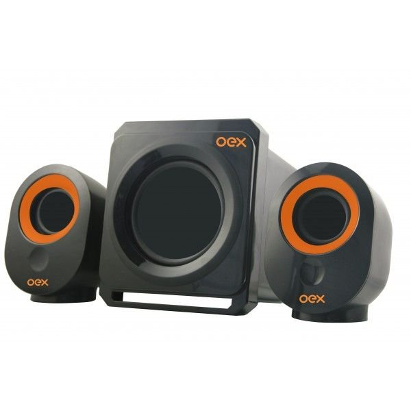 Caixa de Som Speaker Booster SK500 30W Oex