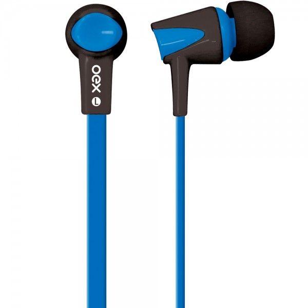 Fone de Ouvido Intra Auricular Newex Colorhit Azul - FN-203