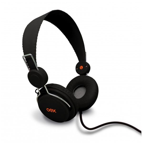 Headphone Oex Fashion Multimídia, P2, HP-104 Preto