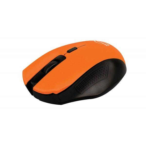 Mouse Sem Fio NewLink Citrus Laranja MO203