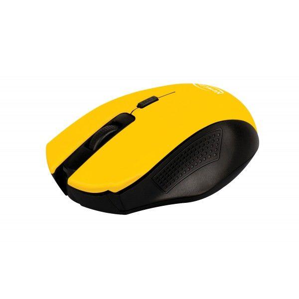 Mouse Sem Fio NewLink Citrus Amarelo MO205