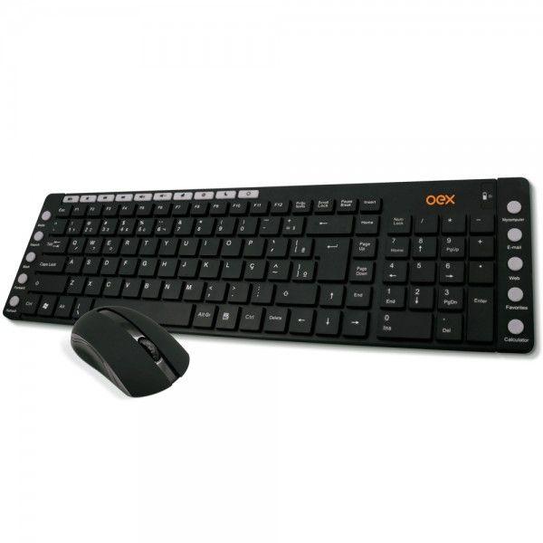 Teclado e Mouse Oex Multimídia TM 401