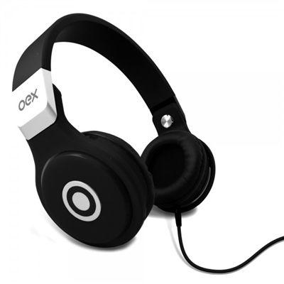 Headphone OEX Multimídia Stéreo HP-102 com Microfone Preto