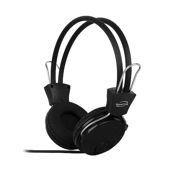 Headset NewLink Sensation Preto HS202