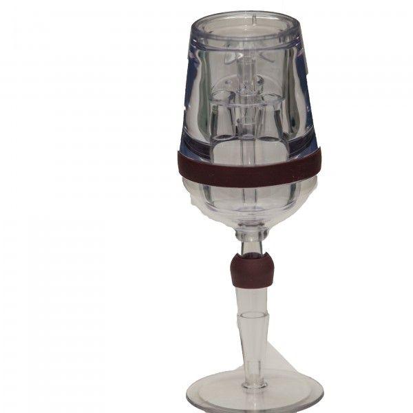 Aerador de Vinho Prana em forma de taça Incolor VA01