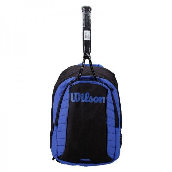 Mochila Wilson Esp Match Preta e Azul