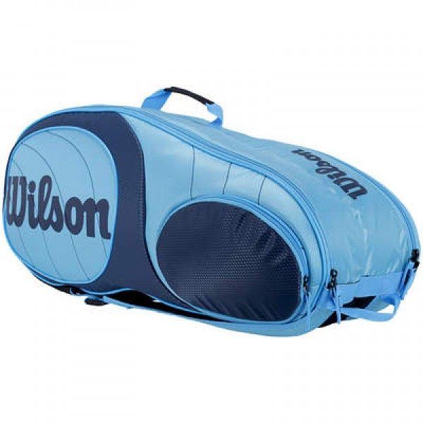Raqueteira Wilson Team 9 Pack Azul