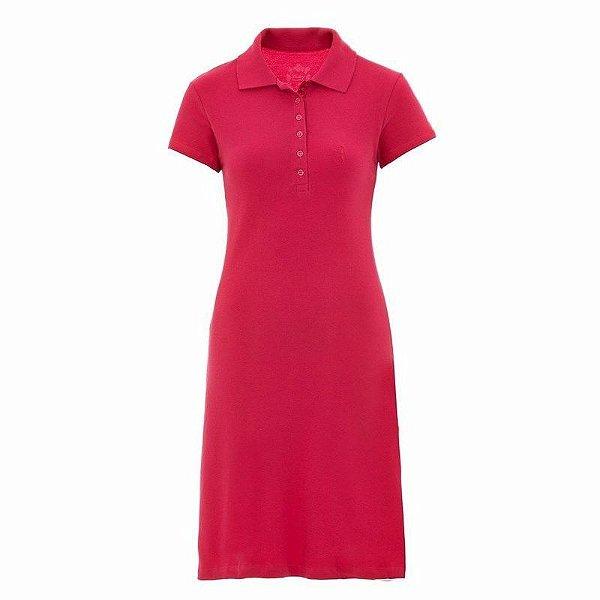 Vestido Polo Aleatory Liso Pink