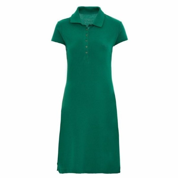 Vestido Polo Aleatory Liso Verde