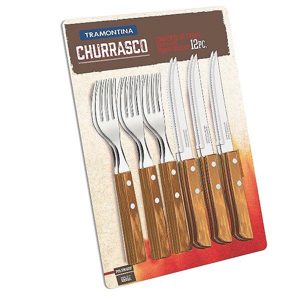 Jogo para Churrasco 12 peças - Tramontina