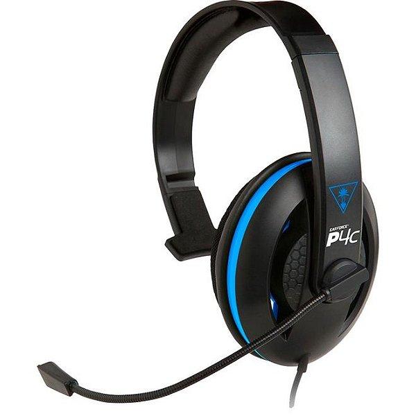 Headset Ear Force P4C com Microfone para Playstation 4 (PS4) - Turtle Beach
