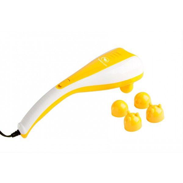 Massageador Double Massage Amarelo 220v, RM-MH5015 - RelaxMedic