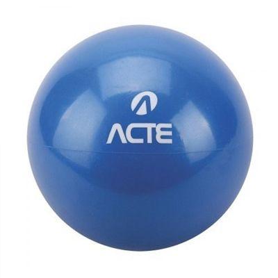 Par de Bolas Tonificadoras Acte Sports com Peso de 3Kg e 16cm de Diâmetro cada Azul T57