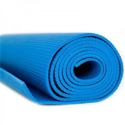 Tapete para Yoga Acte Sports Anti Derrapante e Resistente Com Comprimento 1,73m Azul T11