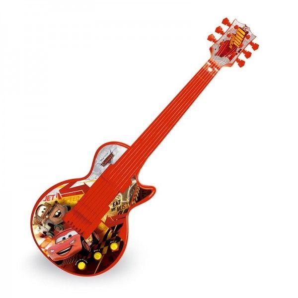 Guitarra Eletrônica Infantil, Disney Cars - Toyng