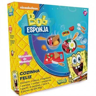 Cozinha Feliz Do Bob Esponja - 12 Peças - Sunny