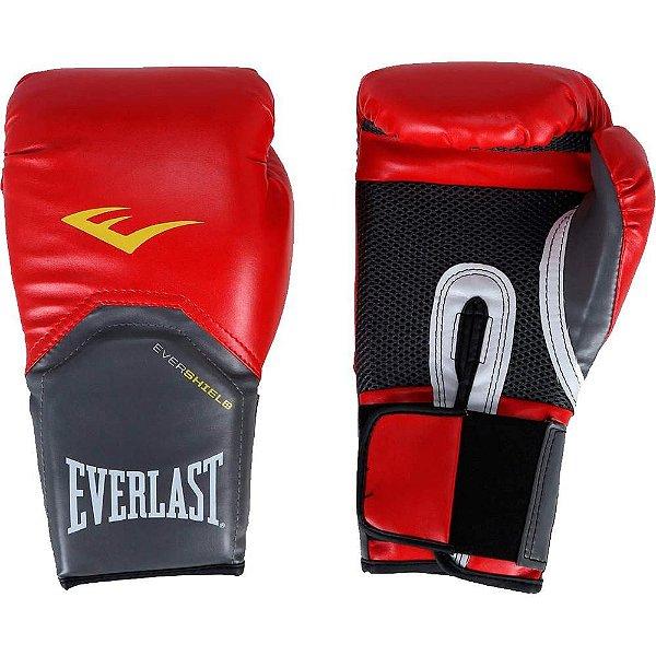 Luva de Boxe Everlast Pro Style 14Oz Vermelha
