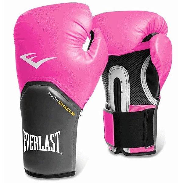 7f64f4c3d Luva de Boxe Pro Style 12oz Pink - Everlast - Loja do Alemão