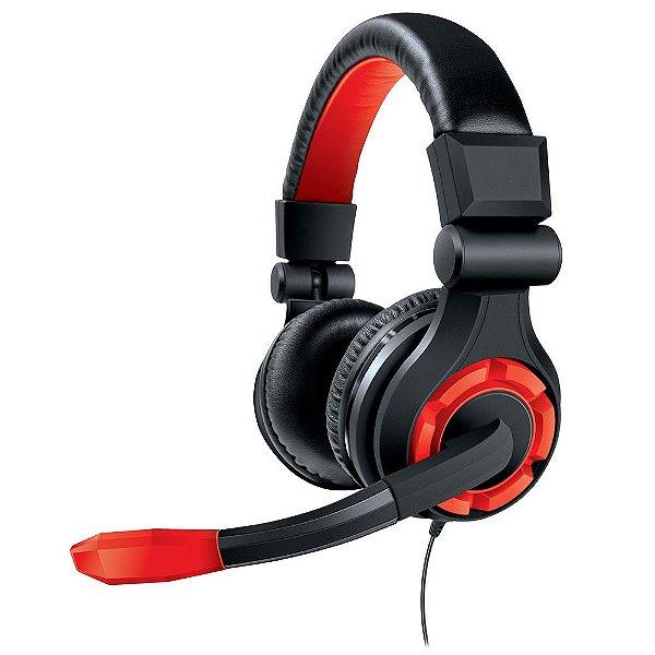 Headset para PS4, PS3, XBOX360, WIIU, PC e outros dispositivos de áudio - DGUN-2588 - Dreamgear
