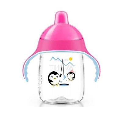 Copo Pinguim 340ml Philips Avent Scf755/07 Rosa