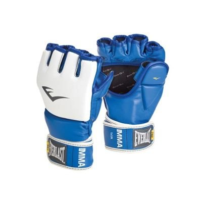 Luva MMA Training Azul P/M - Everlast