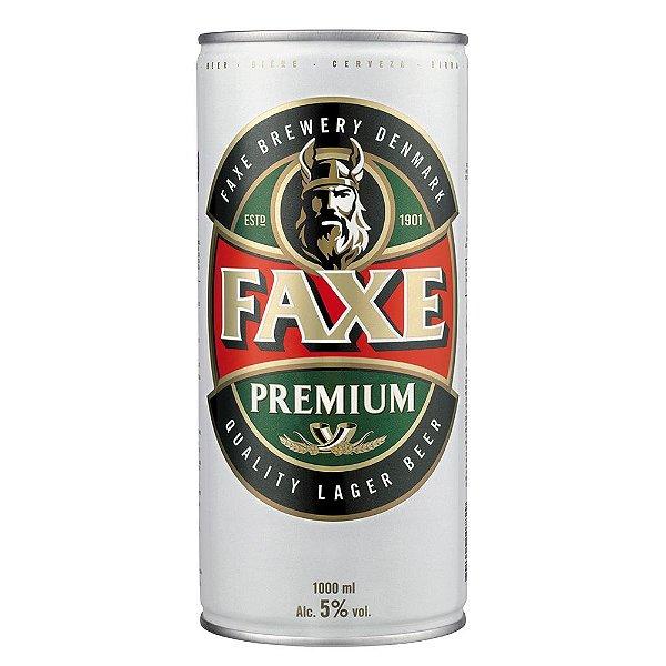 Cerveja Faxe Premium Lata 1000ml