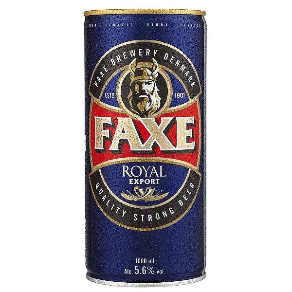 Cerveja Faxe Royal Lata1000ml