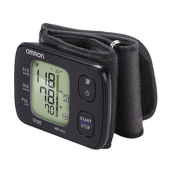 Monitor de Pressão Arterial Automático de Pulso Elite HEM-6221 - Omron